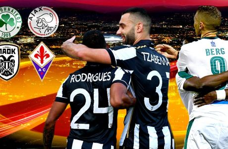 "LIVE CHAT για τις ""μάχες"" των ελληνικών ομάδων στο Europa League"