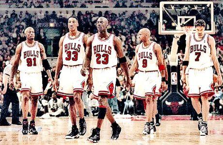 Σικάγο Μπουλς 1995-96: Η ομάδα που δεν έχανε ποτέ