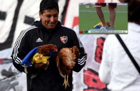 Οπαδοί πέταξαν κότες σε ματς του Νάτσο Σκόκο!