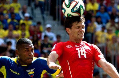 Ελβετία-Εκουαδόρ 2-1