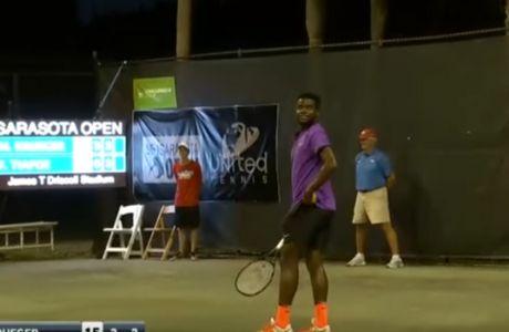 Αγώνας τένις υπό τον ήχο... βογκητών!
