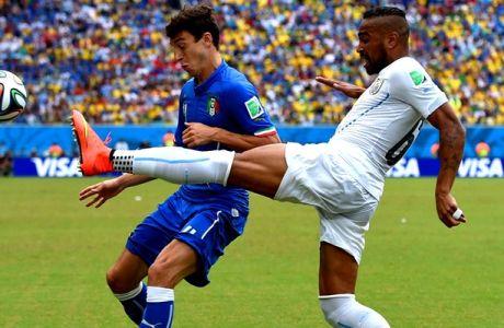 Ιταλία - Ουρουγουάη 0-1