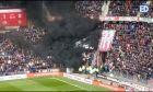 Το βίντεο από το μαύρο καπνογόνο στο ολλανδικό ντέρμπι