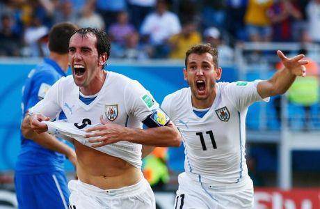 Το 1-0 της Ουρουγουάης