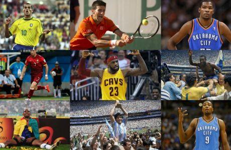 10 αθλητές που από το μηδέν έφτασαν στην κορυφή