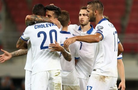 Ελλάδα - Ουγγαρία 4-3
