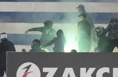 ΦΙΛΙΚΟ / ΑΤΡΟΜΗΤΟΣ - ΠΑΟ (ΦΩΤΟΓΡΑΦΙΑ: ΜΑΡΚΟΣ ΧΟΥΖΟΥΡΗΣ / EUROKINISSI)