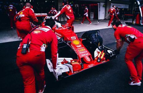 GP Μεξικό (FP2): Πήρε κεφάλι ο Vettel