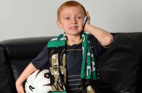 Ο 5χρονος φαν της Σέλτικ που λάτρεψε όλη η Σκωτία!