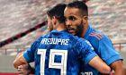 Γιώργος Μασούρας και Γιουσέφ Ελ Αραμπί, ήταν ο δημιουργός και ο σκόρερ αντίστοιχα στο επικό 1-2 του Ολυμπιακού στο 'Emirates' επί της Άρσεναλ και την πρόκριση στους '16' του Europa League 2019/20.