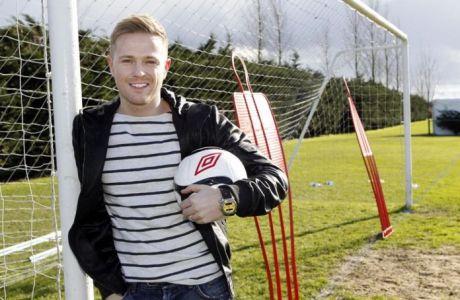 Από ποδοσφαιριστής…στη Eurovision