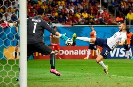 Ο Μπενζεμά το 4-0 για την Γαλλία