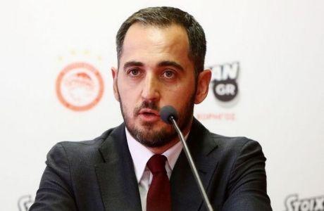 """Κωνσταντόπουλος: """"Μαζί να βελτιώσουμε το προϊόν του μπάσκετ"""""""