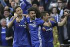Chelsea's Nemanja Matic, left, celebrates with Diego Costa after scoring his side's fourth goal during the English FA Cup semifinal soccer match between Chelsea and Tottenham Hotspur at Wembley stadium in London, Saturday, April 22, 2017. (AP Photo/Tim Ireland)
