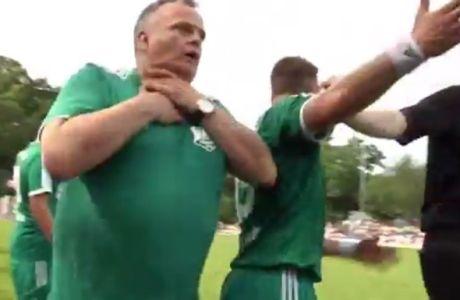Το πιο γελοίο θέατρο προπονητή! (VIDEO)