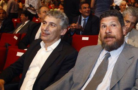 Παναγιώτης Φασούλας και Φάνης Χριστοδούλου, μαζί και για την ανάληψη της διοίκησης της Ομοσπονδίας μπάσκετ