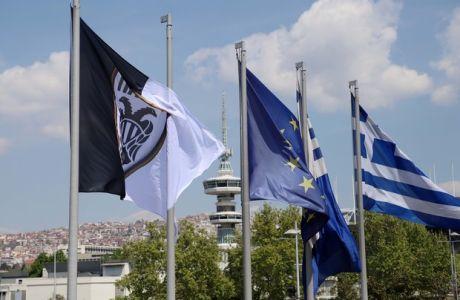 Το Δημαρχείο Θεσσαλονίκης γιορτάζει ήδη για τον ΠΑΟΚ