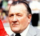 FILE -- Former Liverpool manager Bob Paisley, arguably the most successful manager in British football's long history, who died Wednesday Feb. 14, 1996, died in a Merseyside nursing home after a long illness, aged 77. Paisley led Liverpool to three European Champions Cup triumphs and six league titles in eight years. This is a 1980 photo from files. (AP Photo/files,PA) UNITED KINGDOM OUT