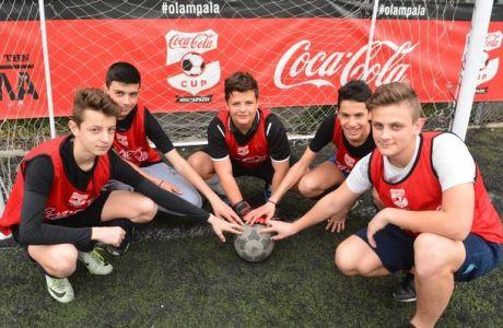 Πανδαισία σε Λάρισα και Τρίκαλα, για το Coca-Cola Cup