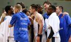 Οι παίκτες της Ζενίτ πανηγυρίζουν έπειτα απ' τη νίκη επί του Παναθηναϊκού ΟΠΑΠ για τη Euroleague 2020-2021 στο Ολυμπιακό Στάδιο   Πέμπτη 7 Ιανουαρίου 2021