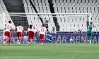 Ο Φεντερίκο Μακέντα του Παναθηναϊκού εκτελεί πέναλτι στην αναμέτρηση με τον Ολυμπιακό για τη Super League 1 2019-2020 στο Ολυμπιακό Στάδιο, Κυριακή 22 Σεπτεμβρίου 2019