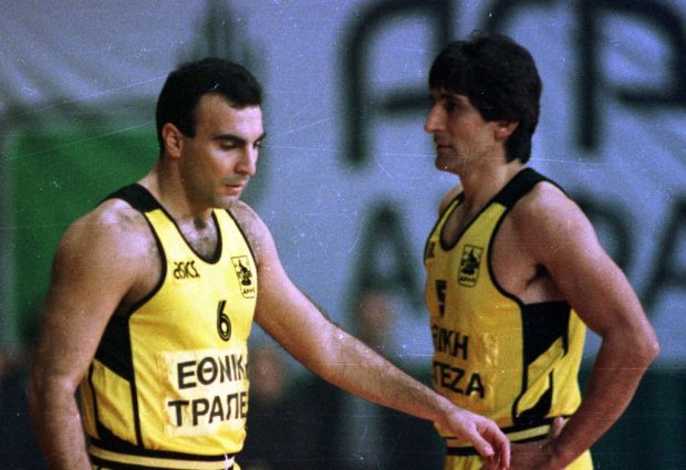 Ο Νίκος Γκάλης και ο Παναγιώτης Γιαννάκης, το μαγικό δίδυμο του ελληνικού μπάσκετ