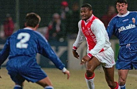 O Oυίνστον Μπογκάρντ ήταν επιλογή του φαν Χαάλ, για τον πρωταθλητή Ευρώπης, Άγιαξ το 1995. Το στιγμιότυπο είναι από αγώνα με τη Ρεάλ Σαραγόσα, για το UEFA Super Cup του 1996.