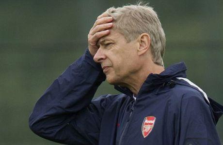 """Βενγκέρ: """"Όποιος ξανακαπνίσει θα προπονείται με την ομάδα νέων"""""""