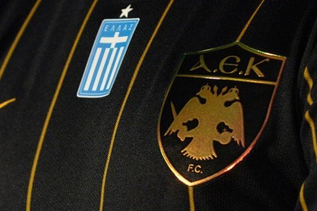 Η μαύρη φανέλα της ΑΕΚ με υπογραφή... Μελισσανίδη - Contra.gr - Live Sports  Magazine 472d36ef2a0