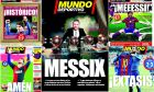 20 ιστορικά πρωτοσέλιδα της Mundo Deportivo για τον Λέο Μέσι