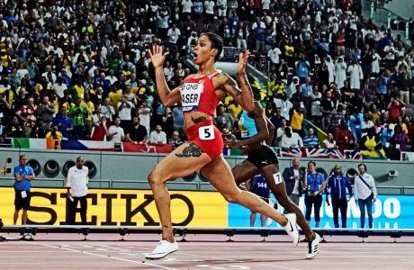O λόγος που δεν τιμωρήθηκε η Σάλβα Ιντ Νάσερ με δυο χρόνια αποκλεισμού και αφαίρεση του τίτλου της παγκόσμιας πρωταθλήτριας, προκαλεί απορίες.
