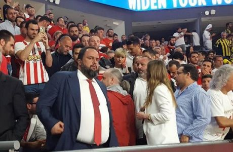 """Πήρε θέση ο Μαρινάκης στο """"Sinan Erdem""""!"""