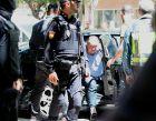 Ο πρόεδρος της Ουέσκα, Αγουστίν Λασαόσα, κατά τη σύλληψή του.
