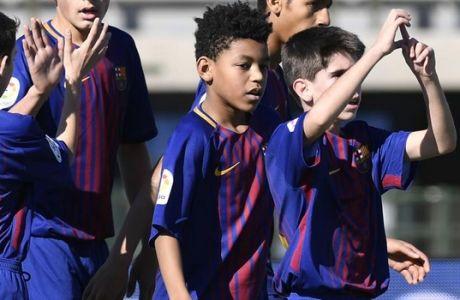 Ο 12χρονος που... έκλεψε το γκολ του Ροναλντίνιο