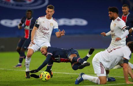 Ο Νεϊμάρ της Παρί σε στιγμιότυπο της αναμέτρησης με την Μπορντό για τη Ligue 1 2020-2021 στο 'Παρκ ντε Πρενς', Παρίσι | Σάββατο 28 Νοεμβρίου 2020