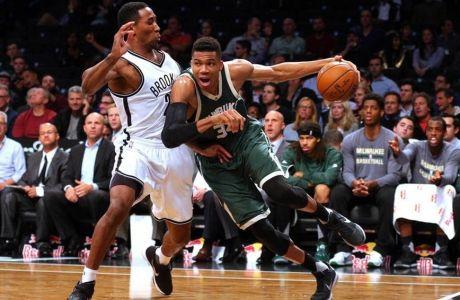 Το σόου του Giannis με τους Nets