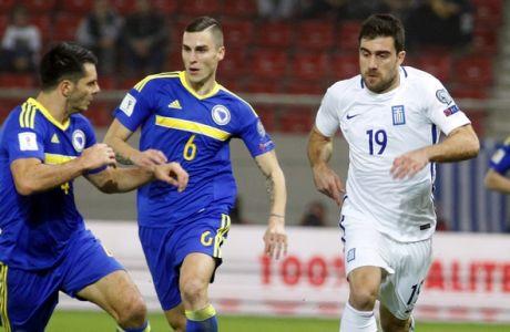 Τα γκολ του Ελλάδα-Βοσνία