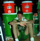 Περίλυπος ο Τόνι Κούκοτς μετά την ήττα της Τρεβίζο στον τελικό του Κυπέλλου Πρωταθλητριών
