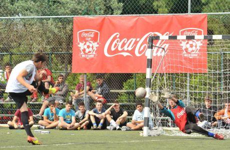 Θεσμός στη Λάρισα το Coca-Cola Cup