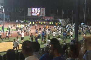 Σοβαρά επεισόδια στον τελικό Κυπέλλου Κύπρου