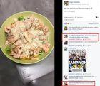 Απίστευτα σχόλια στη σελίδα του Αλμέιδα για το... βραδινό του!