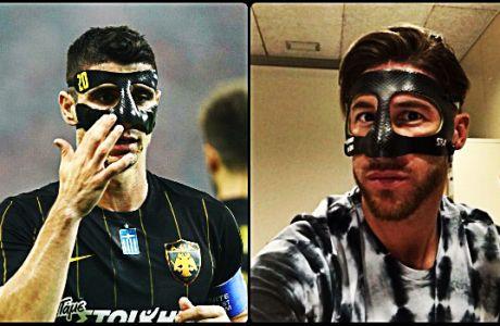 Ο Ράμος θα φορέσει τη μάσκα του... Μάνταλου!