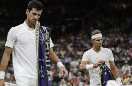 Οι Nadal και Djokovic ρωτήθηκαν για τη Σαουδική Αραβία, αλλά δεν απάντησαν