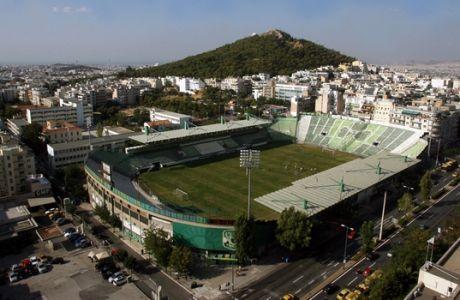 Το γήπεδο του Παναθηναϊκού στην Λ.Αλεξάνδρας,Τρίτη 4 Οκτωβρίου 2011 (EUROKINISSI/ΤΑΤΙΑΝΑ ΜΠΟΛΑΡΗ)