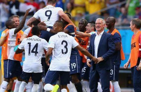 Μέσα σε ένα λεπτό τα δύο πρώτα γκολ της Γαλλίας!