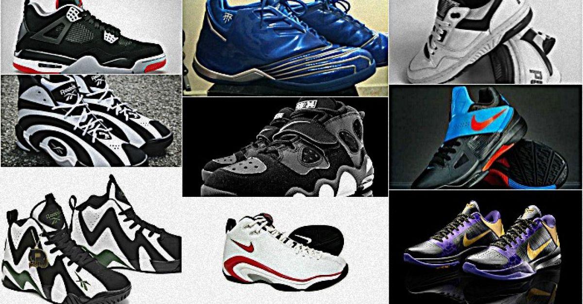 26dd453009a Θρυλικά παπούτσια μπάσκετ: Η 'συλλογή' του Contra.gr   Contra.gr