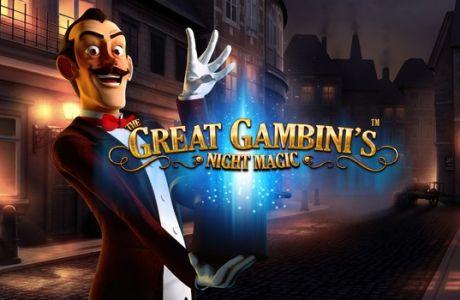 "To πολυαναμενόμενο ""The Great Gambini's Night Magic"" ήρθε στο Casino του Stoiximan.gr"