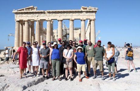 Γνωρίστηκαν με τον ελληνικό πολιτισμό οι σύνεδροι του Χάρβαρντ!