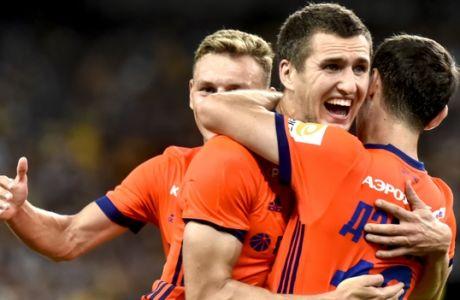ÔÓÁÌÐÉÏÍÓ ËÉÃÊ / ÁÅÊ - ÔÓÓÊÁ ÌÏÓ×ÁÓ / CHAMPIONS LEAGUE / AEK - CSKA MOSCOW (ÂÁÃÃÅËÇÓ ÓÔÏËÇÓ / Eurokinissi Sports)