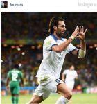 Το μήνυμα της Φουρέιρα στο Instagram για το γκολ του Σαμαρά (PHOTO)